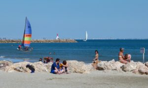 beach in Montpellier